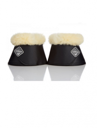 image of LeMieux Lambskin WrapRound Over Reach Boots