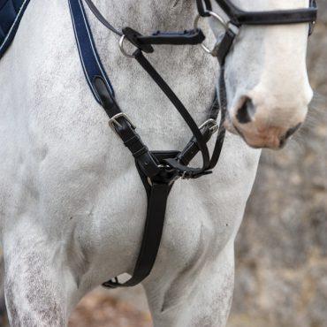 Horseware Rambo Micklem Breastplate - Black