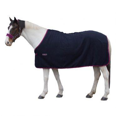 Loveson Fleece Cooler- Navy/Navy/Pink
