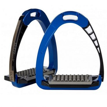 Acavallo Arena AluPro Safety Stirrup - Blue