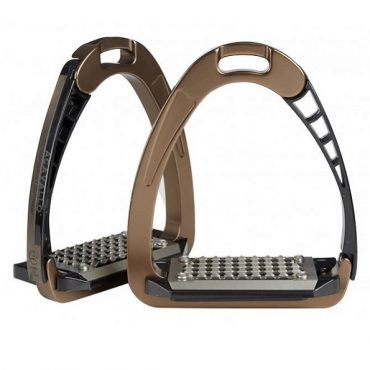 Acavallo Arena AluPro Safety Stirrup - Brown
