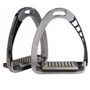Acavallo Arena AluPro Safety Stirrup - Titanium