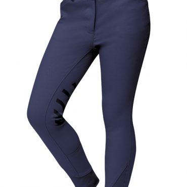 Dublin Childs Prime Gel Knee Patch Breeches Navy