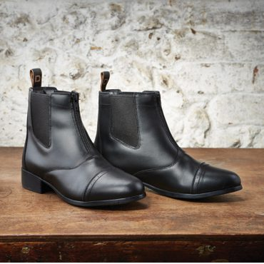 Dublin Childs Foundation Zip Paddock Boots Lifestyle - Black