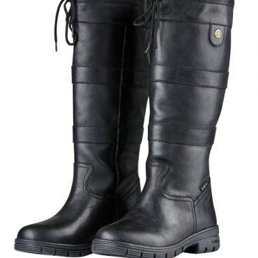 Dublin Ladies Pinnacle Grain Boots Black