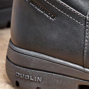 Detailing On The Dublin Ladies Pinnacle Grain Boots