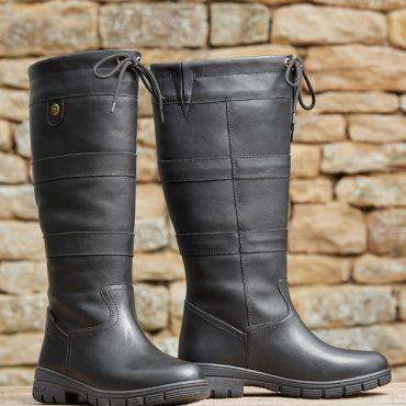 Dublin Ladies Pinnacle Grain Boots in Black