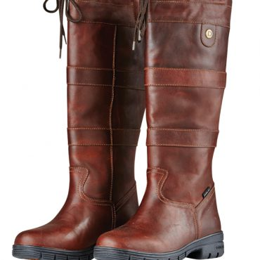Dublin Ladies Pinnacle Grain Boots Red Brown