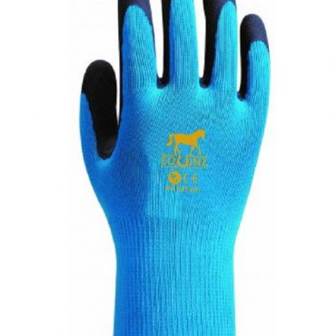 Equine Childrens Work Glove - Blue
