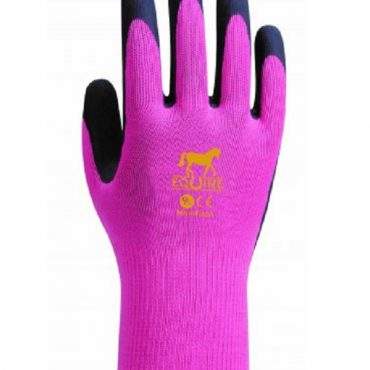 Equine Childrens Work Glove - Pink