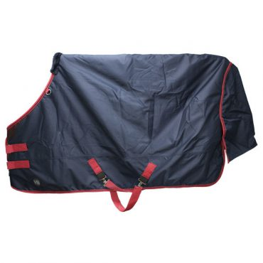 Hy Lightweight Turnout Rug 0g - Navy/Red