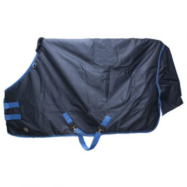 Hy Lightweight Turnout Rug 100g - Navy/Blue