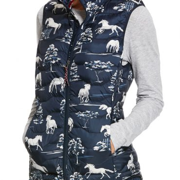 Ariat Ladies Ideal 3.0 Down Vest Shadow Pasture