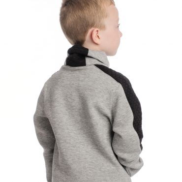 Horseware Childrens Tech Luxe Mid Layer - Grey Melange