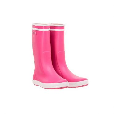 Aigle Childrens Lolly Pop Boots - New Rose