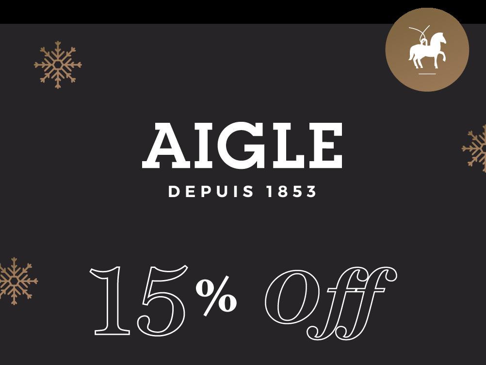 Aigle 15% Off