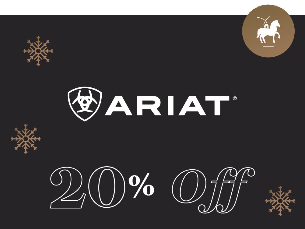 Ariat 20% Off