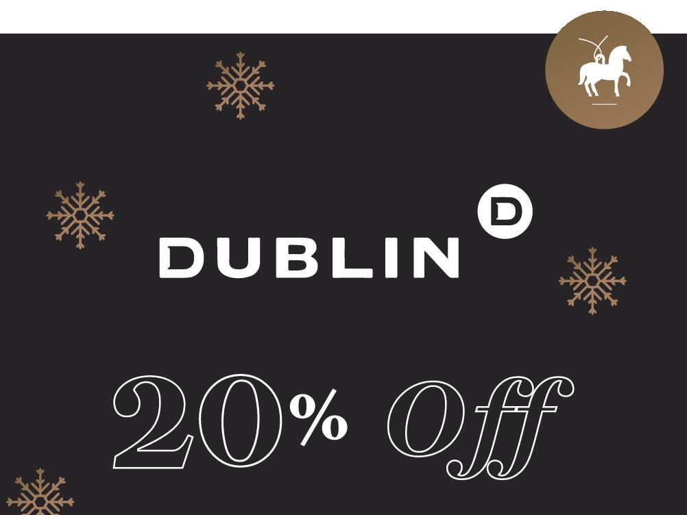 Dublin 20% Off