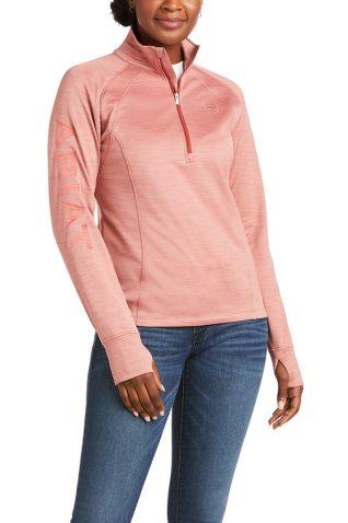 image of Ariat Ladies Tek Team Half Zip Sweatshirt