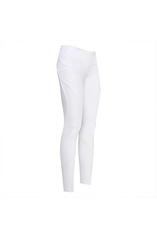 image of euro-star Dani White Flying Figure Full Grip Riding Tights