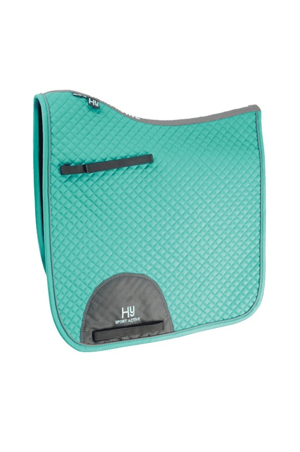 Hy Sport Active Dressage Saddle Pad - Spearmint Green