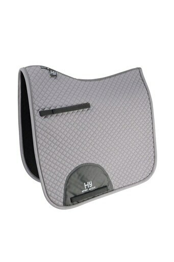 Hy Sport Active Dressage Saddle Pad - Pencil Point Gray