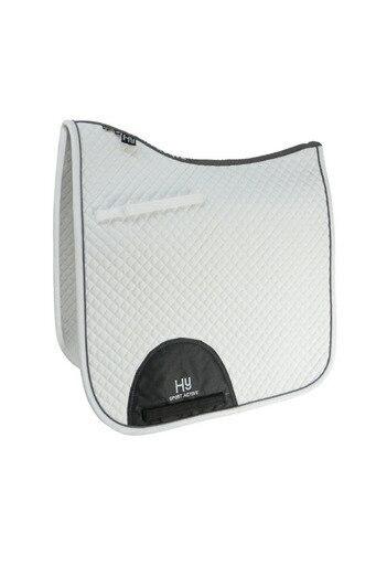 Hy Sport Active Dressage Saddle Pad - White