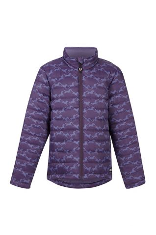 image of Kerrits Kids Horse Crazy Quilted Jacket