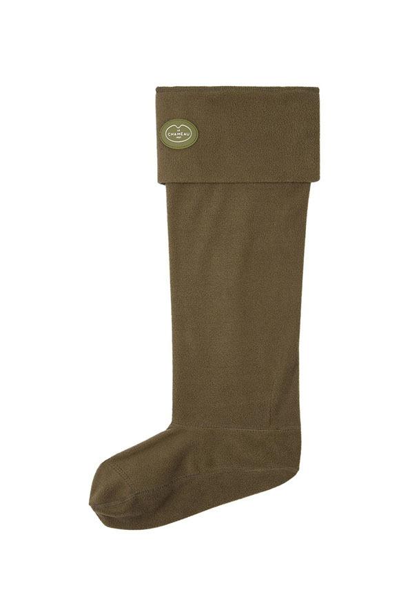 Le Chameau Fleece Boot Liners - Vert Chameau