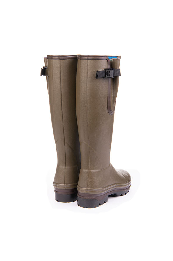 Le Chameau Ladies Vierzonard Yard Neoprene Boots Back