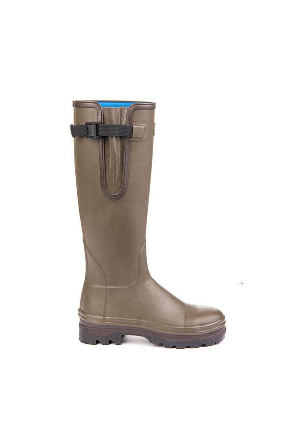 Le Chameau Ladies Vierzonard Yard Neoprene Boots Side
