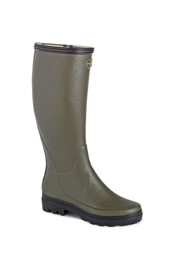 Le Chameau Ladies Giverny Boots - Vert Chameau