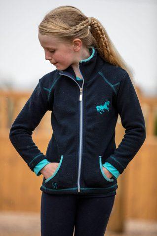 image of Mark Todd Childrens Fleece Jacket