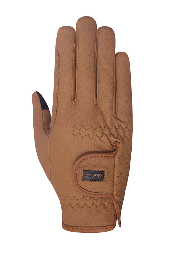Mark Todd Pro Touch Gloves in Caramel