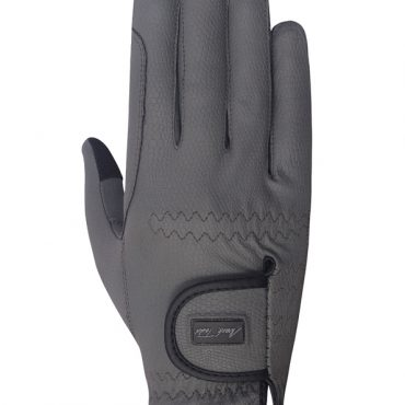 Mark Todd Pro Touch Gloves in Grey