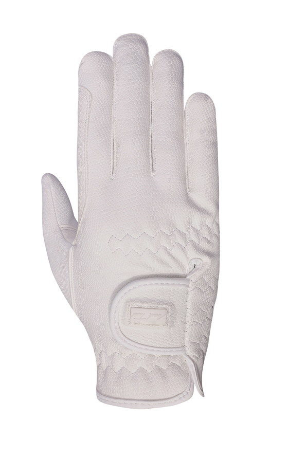 Mark Todd Pro Touch Gloves in White