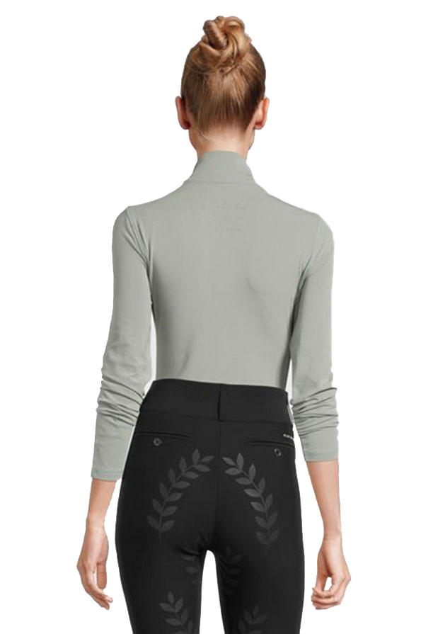PS of Sweden Alessandra Half Zip Base Layer - Thyme Back