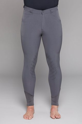 image of Toggi Mens Flexi Woven Breeches in Anthracite